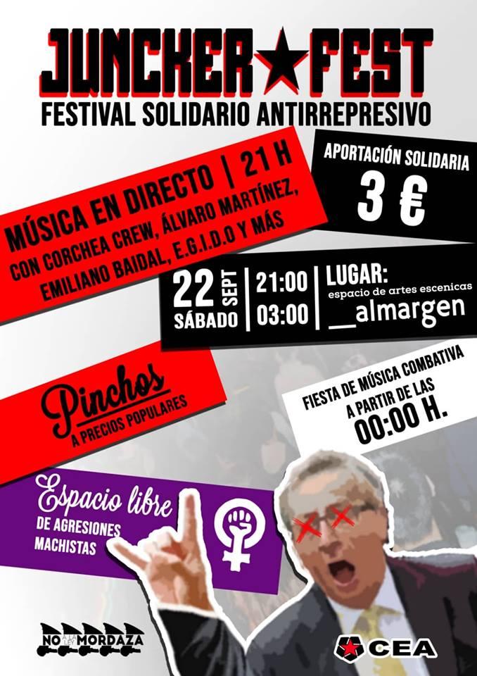 Espacio Almargen Juncker Fest Salamanca Septiembre 2018