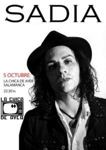 La Chica de Ayer Sadia Salamanca Octubre 2018