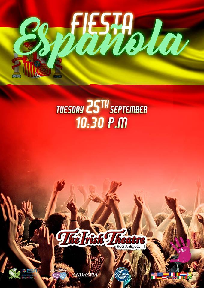 The Irish Theatre Fiesta Española Salamanca Septiembre 2018