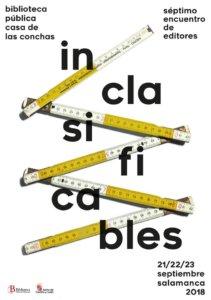 Casa de las Conchas VII Encuentro de Editores Inclasificables Salamanca Septiembre 2018