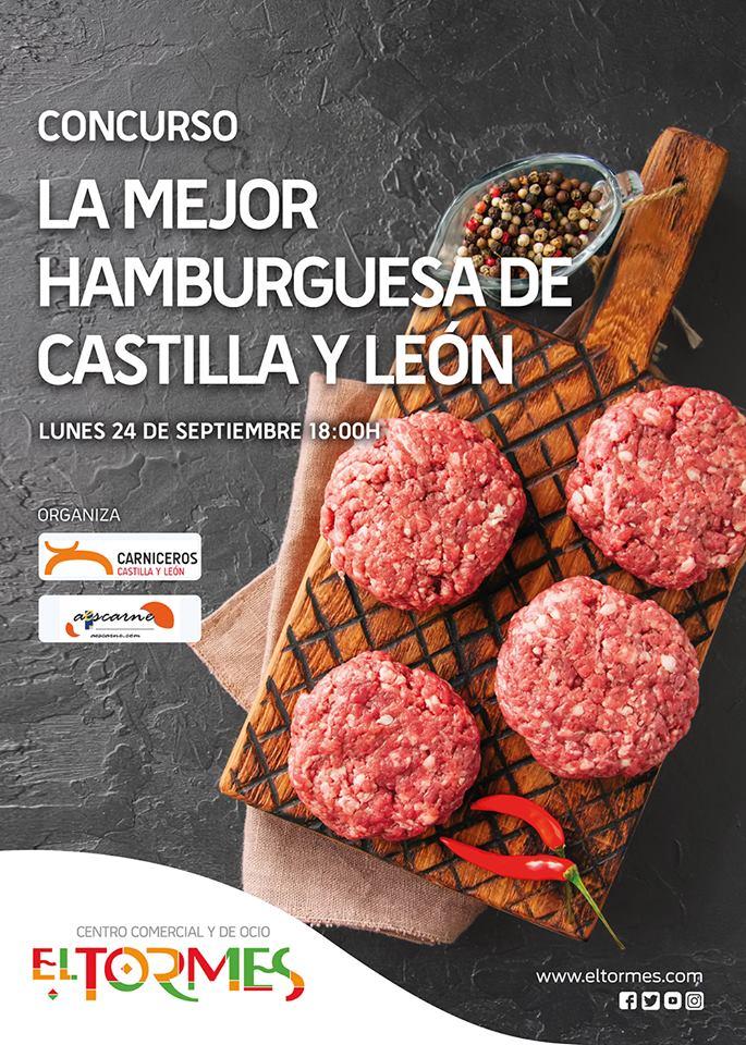 Centro Comercial El Tormes La mejor hamburguesa de Castilla y León Santa Marta de Tormes Septiembre 2018