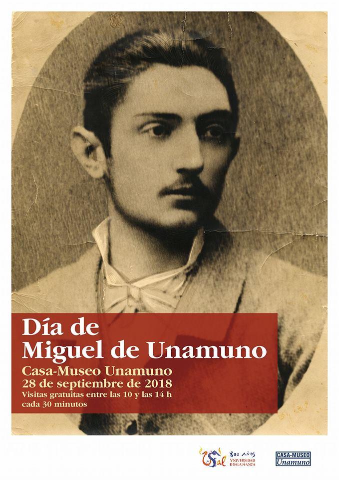 Día de Unamuno Universidad de Salamanca Septiembre 2018