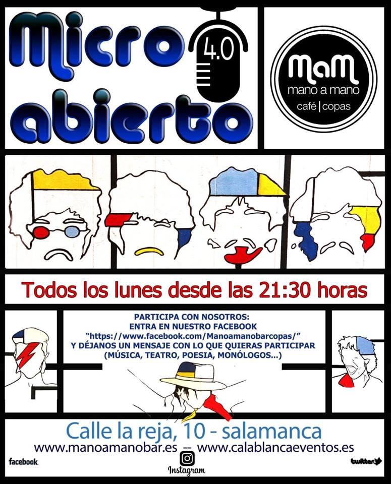 Bar Mano a Mano Micro Abierto 4.0 Salamanca 2018-2019
