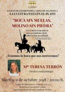 Casino de Salamanca María Teresa Terrón Octubre 2018