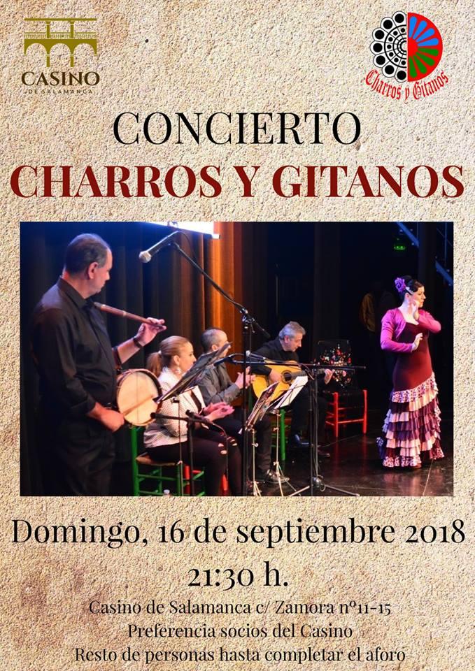 Casino de Salamanca Charros y Gitanos Septiembre 2018