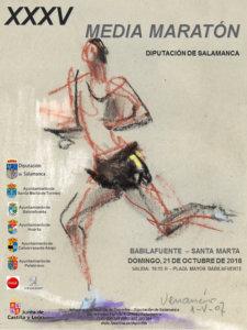 Babilafuente XXXV Media Maratón Diputación de Salamanca Octubre 2018