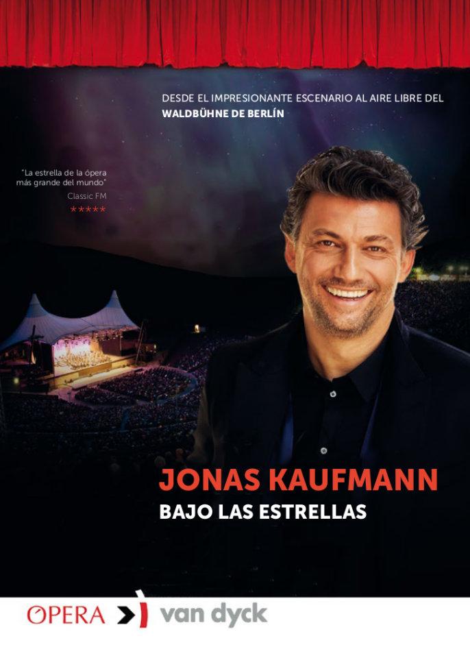 Cines Van Dyck Jonas Kaufmann, bajo las estrellas Salamanca Septiembre 2018