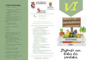 Cabrerizos VI Feria de la Huerta Septiembre 2018