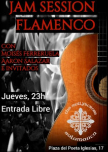The Molly's Cross Jam Session Flamenca Salamanca 2018-2019