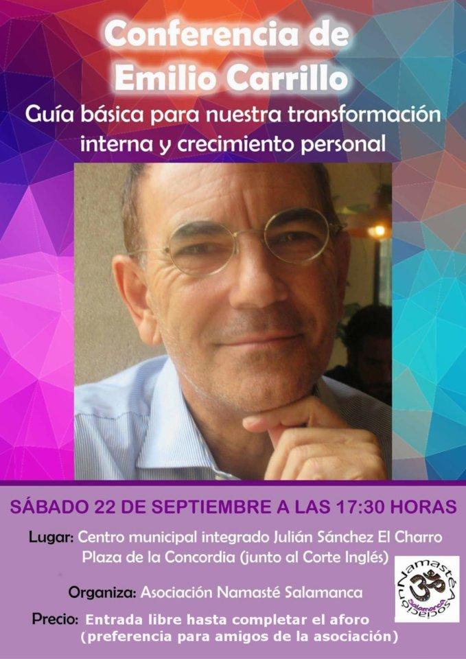 Julián Sánchez El Charro Emilio Carrillo Namasté Salamanca Septiembre 2018