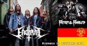 Nave Bunker Endlevel + Fateful Finality Villares de la Reina Octubre 2018