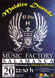 Music Factory Maldito Duende Salamanca Octubre 2018