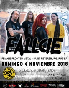Nave Bunker Fallcie Salamanca Noviembre 2018