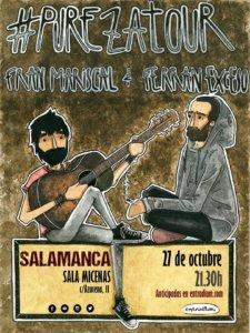 Sala Micenas Adarsa Fran Mariscal y Ferran Exceso Salamanca Octubre 2018