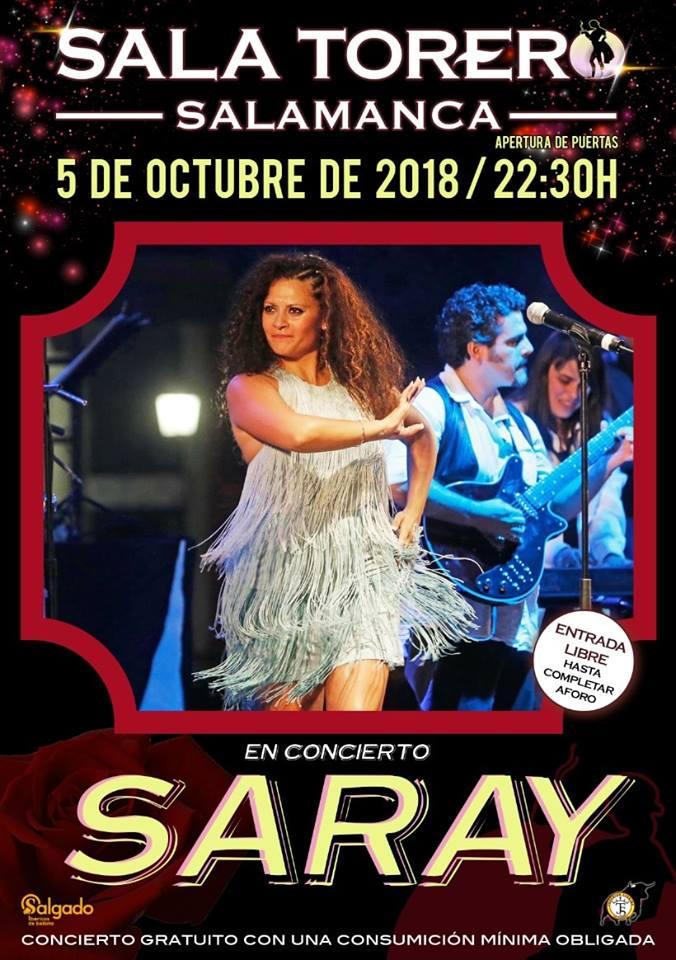 Sala Torero Saray Salamanca Octubre 2018