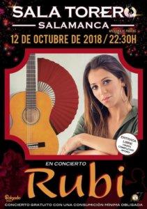 Sala Torero Rubi Salamanca Octubre 2018