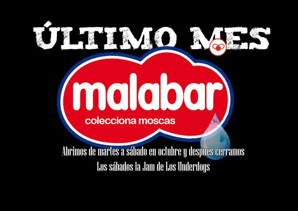 Malabar La Jam de los Underdogs Salamanca Octubre 2018
