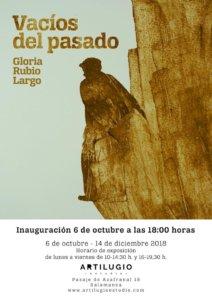 Artilugio Estudio Vacíos del pasado Salamanca 2018