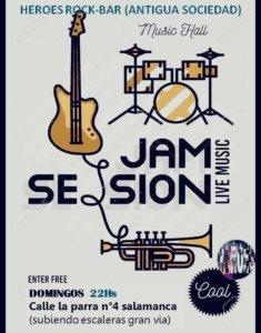 Héroes Rock Bar Jam Session Salamanca 2018-2019