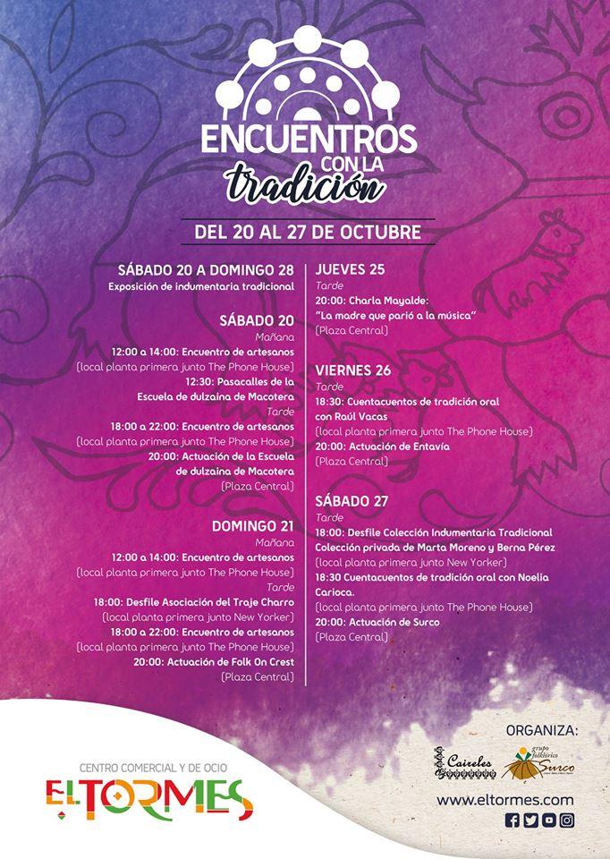 Centro Comercial El Tormes Encuentros con la Tradición Santa Marta de Tormes Octubre 2018