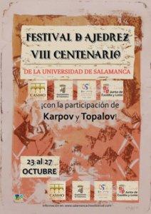 Salamanca Festival de Ajedrez VIII Centenario Octubre 2018