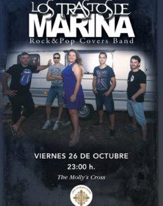 The Molly's Cross Los Trastos de Marina Salamanca Octubre 2018