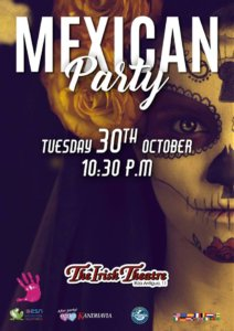 The Irish Theatre Mexican Party Salamanca Octubre 2018