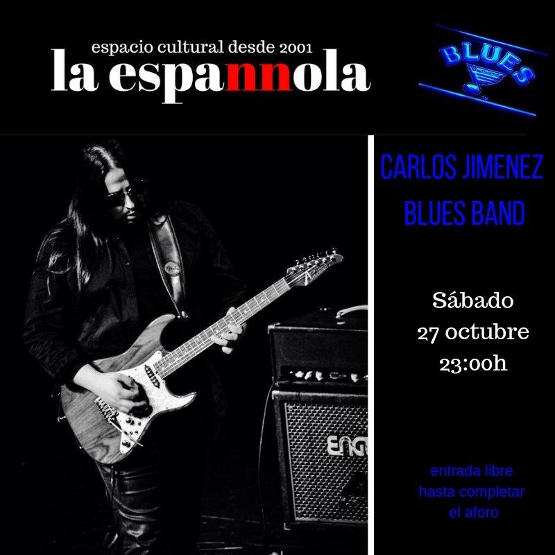 La Espannola Carlos Jiménez Blues Band Salamanca Octubre 2018