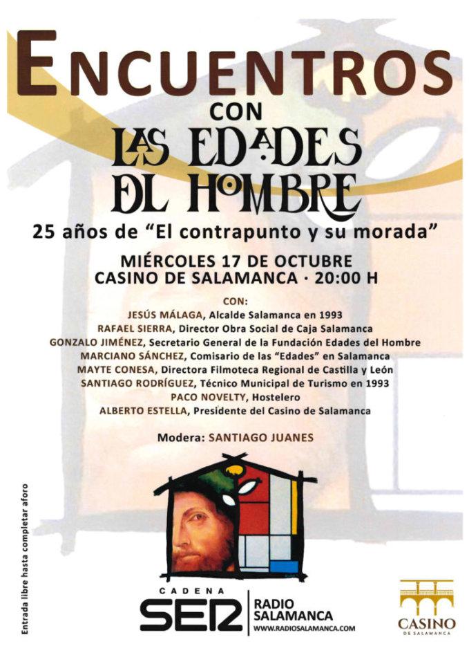 Casino de Salamanca Encuentro con Las Edades del Hombre Octubre 2018