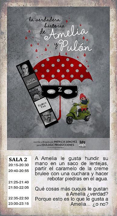 La Malhablada La verdadera historia de Amelia y Pulón Salamanca Octubre 2018