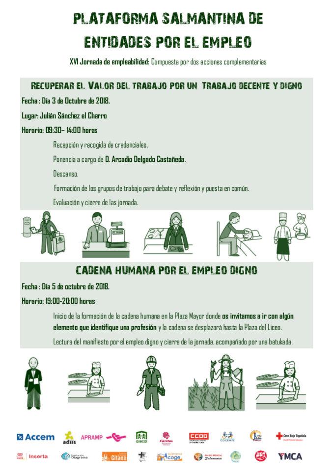 XVI Jornadas de Empleabilidad Salamanca Octubre 2018