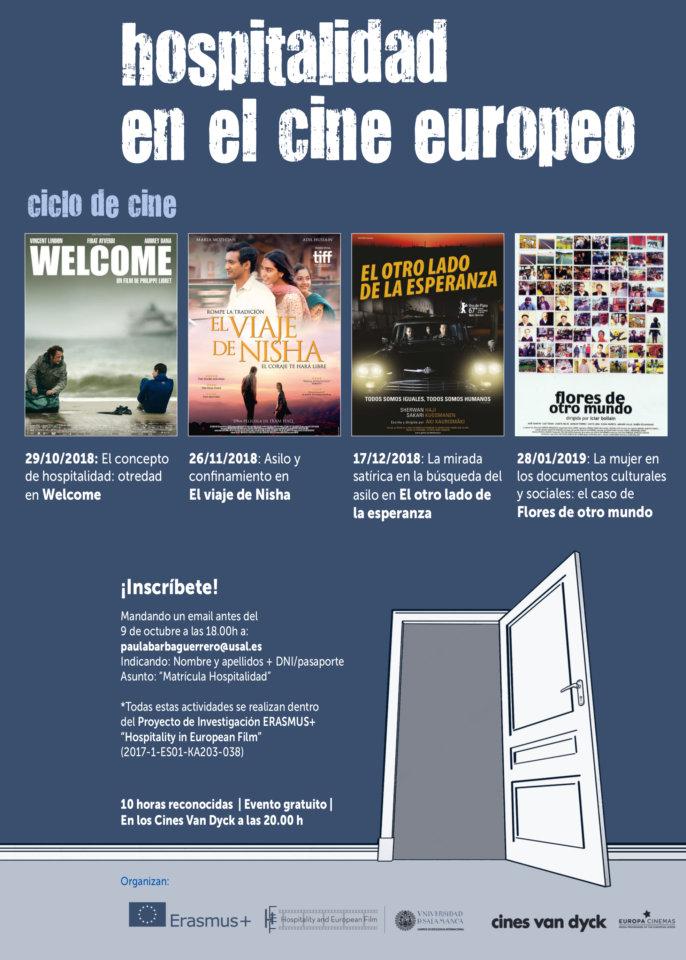 Cines Van Dyck I Ciclo Hospitalidad en el Cine Europeo Salamanca 2018-2019