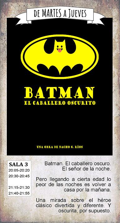 La Malhablada Batman el caballero oscurito Salamanca Octubre 2018