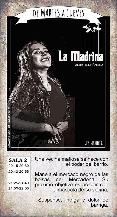 La Malhablada La madrina Salamanca Octubre 2018