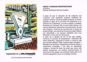 La Salchicheria Oeste 7 Eduardo Rodríguez Sánchez Salamanca Octubre noviembre 2018
