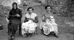 La Salina Mujeres del Campo Salmantino [Secuencia de imágenes 1930-1970] Salamanca Octubre 2018