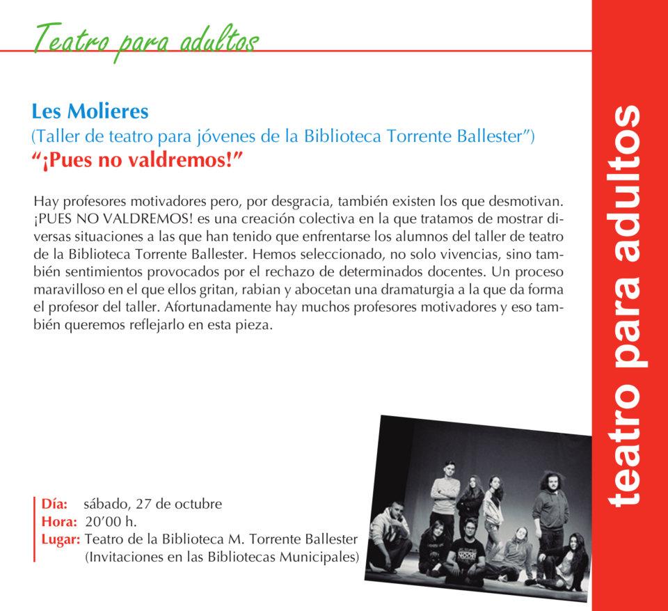 Torrente Ballester Les Molieres Salamanca Octubre 2018
