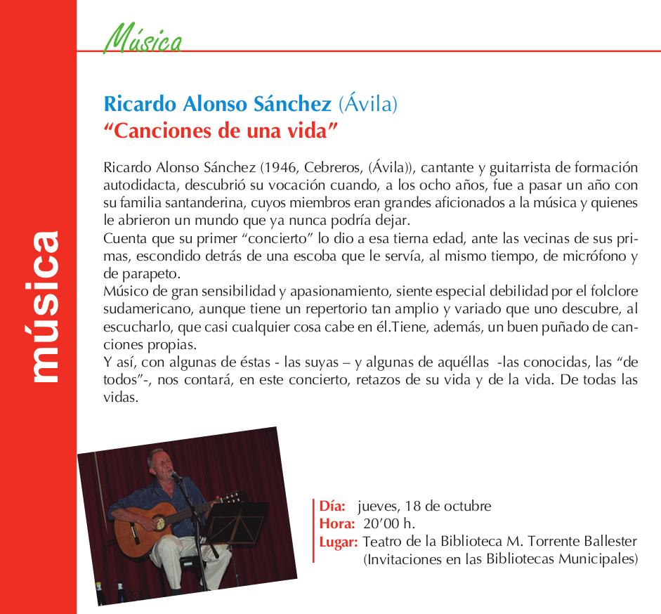 Torrente Ballester Ricardo Alonso Sánchez Salamanca Octubre 2018