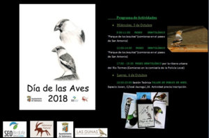 Salamanca Día de las Aves 2018 3-4 Octubre