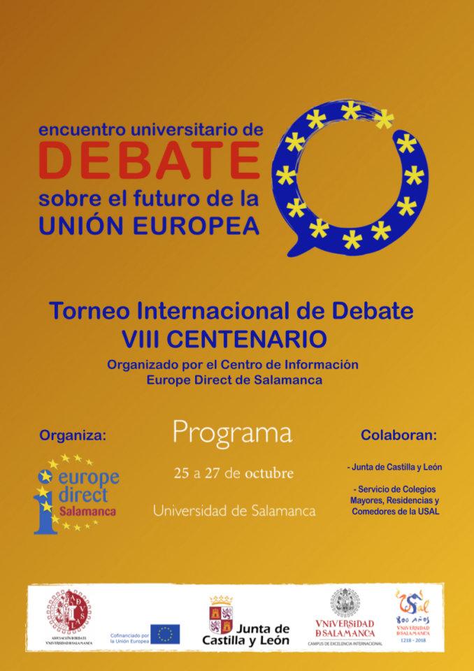 Salamanca I Torneo Internacional de Debate Universitario Centro ...