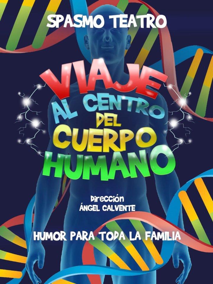 Teatro Liceo Spasmo Teatro Viaje al centro del cuerpo humano Salamanca Noviembre 2018