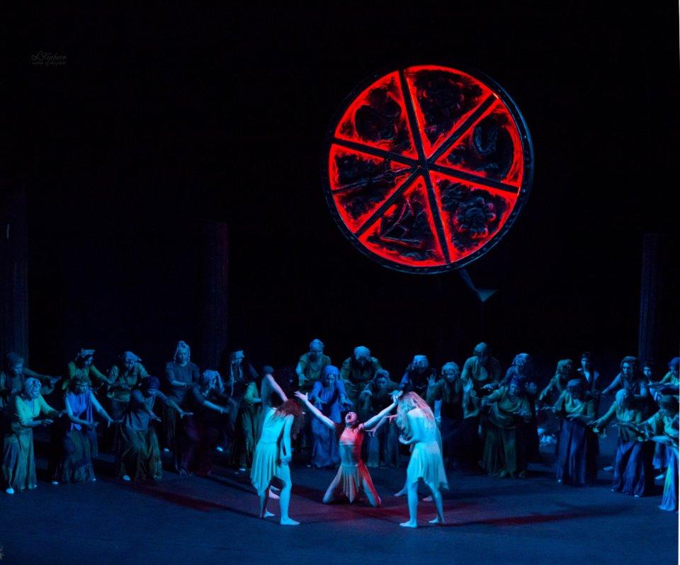 Teatro Liceo Ópera Nacional de Moldavia Macbeth Salamanca Octubre 2018