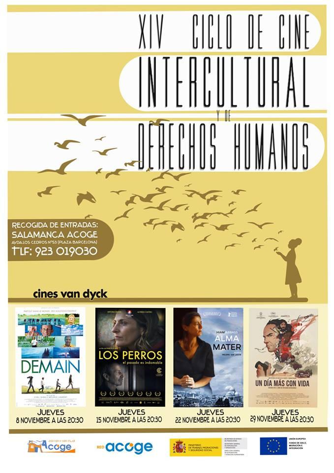 Cines Van Dyck XIV Ciclo de Cine Intercultural y de Derechos Humanos Salamanca Noviembre 2018