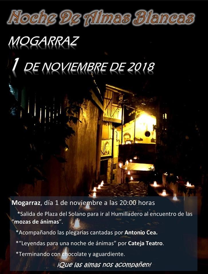 Mogarraz Noche de Almas Blancas Noviembre 2018