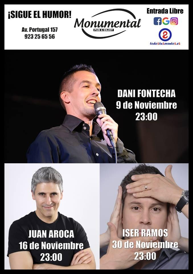 Pub Monumental Humor y magia Salamanca Noviembre 2018