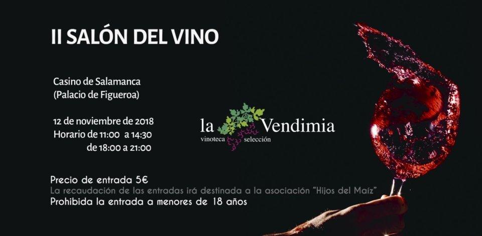 Casino de Salamanca II Salón del Vino Salamanca Noviembre 2018