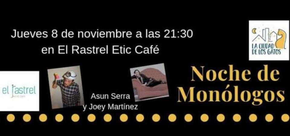 El Rastrel Noche de Monólogos Salamanca Noviembre 2018