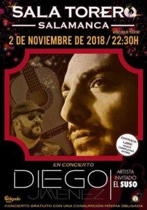 Sala Torero Diego Jiménez + El Suso Salamanca Noviembre 2018