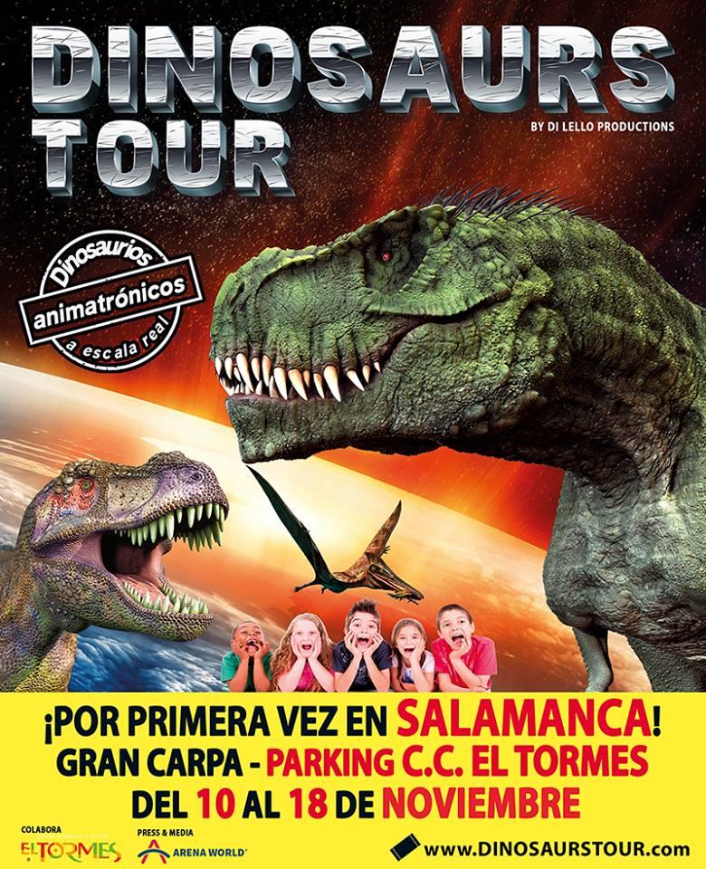 Centro Comercial El Tormes Dinosaurs Tour Santa Marta de Tormes Noviembre 2018