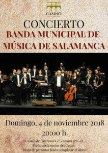 Casino de Salamanca Banda Municipal de Música Noviembre 2018